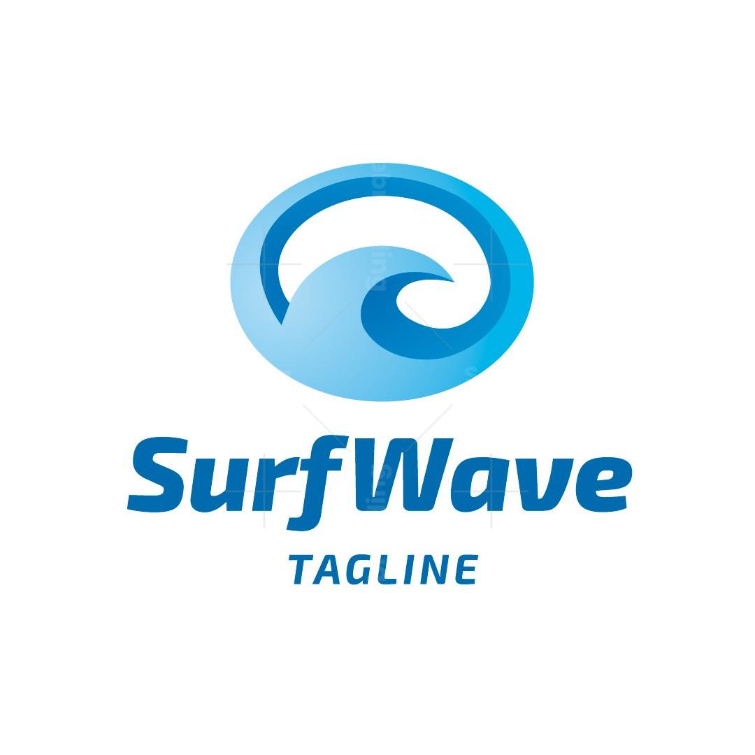 Surf Wave Logo
