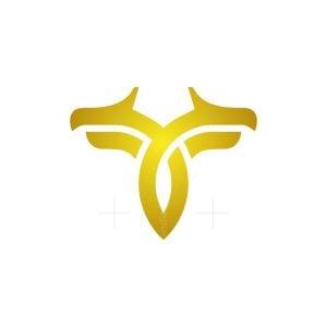 Luxury T Dragon Logo