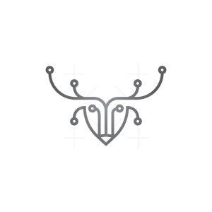 Technology Deer Logo