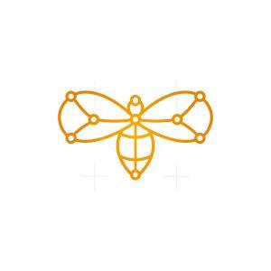 Technology Winged Bugs Logo
