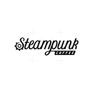 Steampunk Coffee Logo