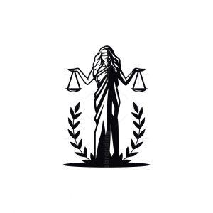 Themis Justice Women Goddes Logo