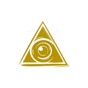 Triangle Lens Logo