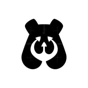 Trident Bear Logo