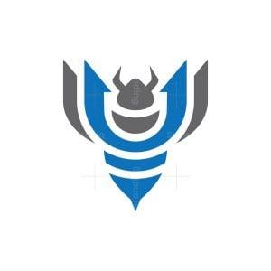 Trident Bee Logo