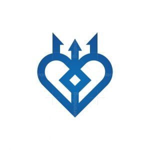 Trident Love Logo