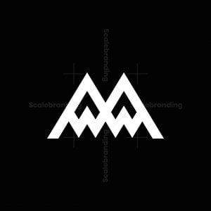 Twin Peaks Letter M Logo
