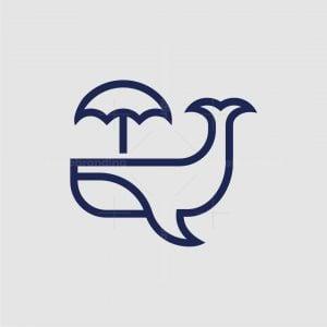 Umbrella Whale Logo