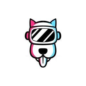 Vr Dog Logo