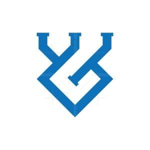 Letter Wg Logo