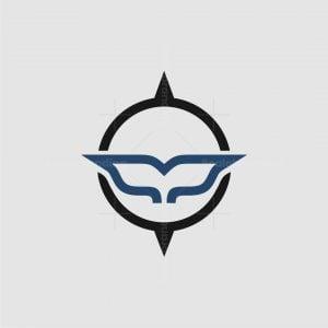 Whale Compass Logo
