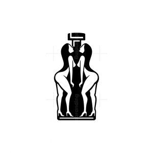 Whiskey Twins Woman Logo