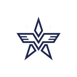 Wing A Star Logo