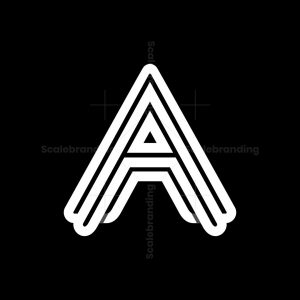 Modern A Logo