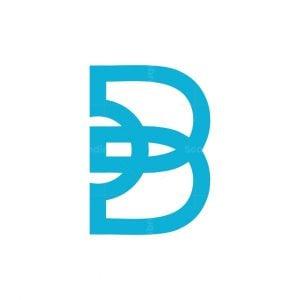 Modern Simple B Rocket Logo