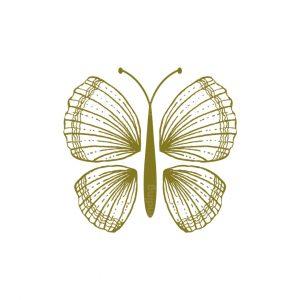 Butterfly Seashell Logo