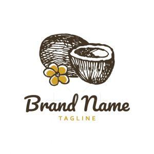 Coconut Flower Logo