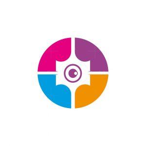 Crowd Photo Logo