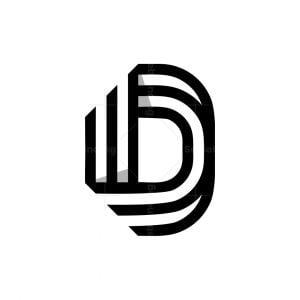Modern D Logo