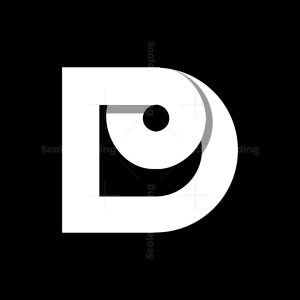 D Circle Twist Logo