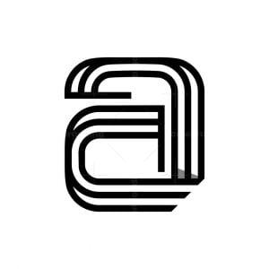Elegant A Logo