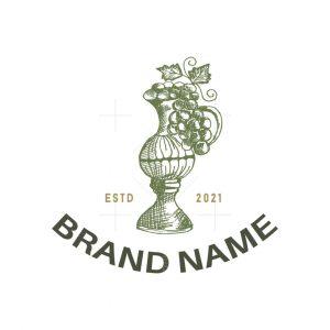 Grape Wine Logo