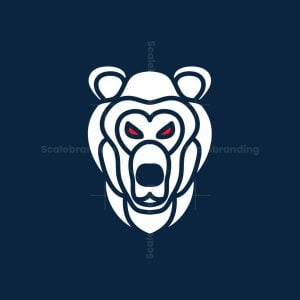Grizzly Face Logo