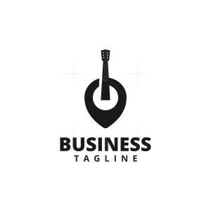 Guitar Pin Logo