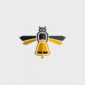 Honey Bee Bell Logo