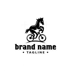 Horse Bike Logo