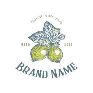 Lemon Sketch Logo