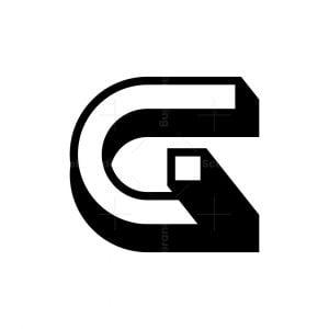 Letter Cg Gc Logo