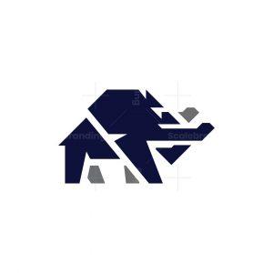 Dominant Elephant Logo Elephant Logo