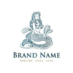 Blue Mermaid Logo
