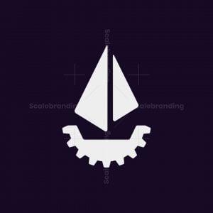 Gear And Ship Logo