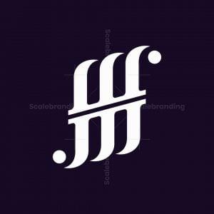 Monogram Letter Wm Logo
