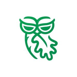 Oak Leaf Owl Logo
