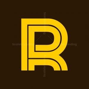 Simple Modern R Logo