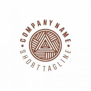 Geometric Wool Yarn Logo