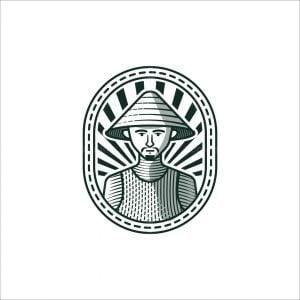 Traditional Farmer Logo