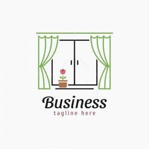 Relaxing Windows View Logo