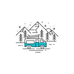 Camper Van Logo