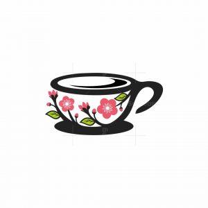 Cup Flower Logo