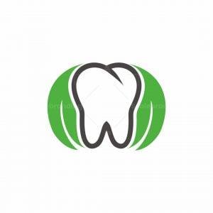 Leaf Dental Tree Logo