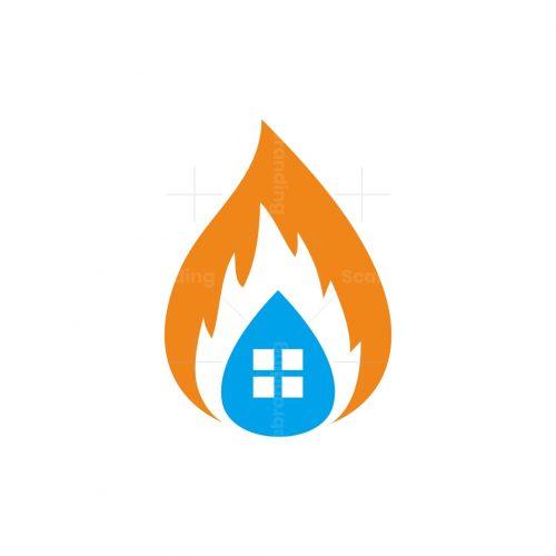 Property Restoration Home Logo