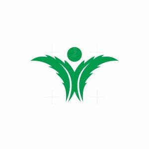 Cannabis Human Logo