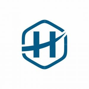H Polygon Logo