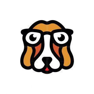 Glasses Dog Logo