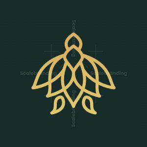 Flower Turtle Logo