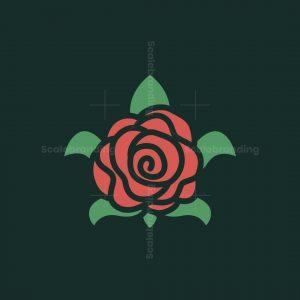 Rose Turtle Logo